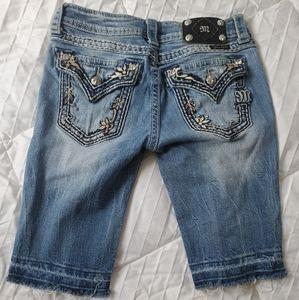 Miss Me Bermuda shorts size 27